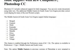 Adobe产品,例如Photoshop 开启Opentype 字体引擎,支持国际标准编码蒙古文字体的步骤(官方提供):